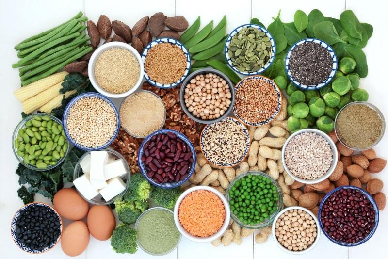 vegetales con alto contenido en proteinas